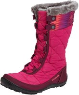 Columbia Girls' Minx Mid II Print Omni-Heat Waterproof Winter Boot 6 M US