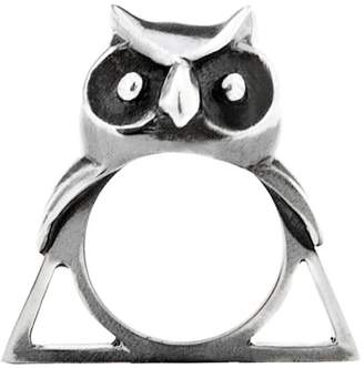 Glenda López The Owl Triangle Ring