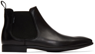 Paul Smith Black Falconer Chelsea Boots