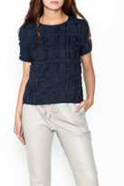Lucy Paris Heather Geo Textured Top