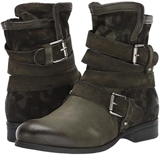 Miz Mooz Savvy (Forest Camo) Women's Lace up casual Shoes