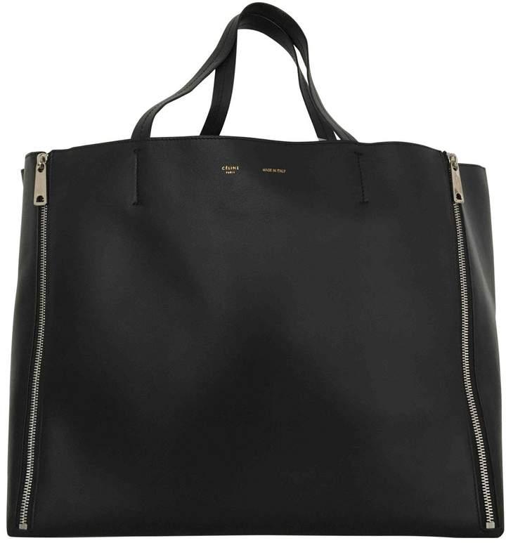 Celine Cabas leather tote
