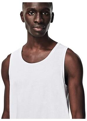 Lacoste 3-Pack Sleeveless Slim Essential T-Shirt (White) Men's Clothing