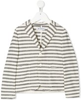 Dondup Kids striped blazer jacket