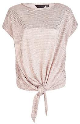 Dorothy Perkins Womens Rose Gold T