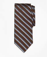 Brooks Brothers Double Sidewheeler Stripe Tie