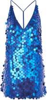 Motel **Finn Sequin Slip Mini Dress