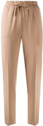 Blumarine Drawstring Straight Trousers
