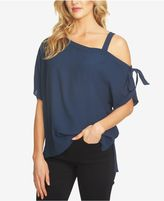 1 STATE 1.STATE One-Shoulder Tie-Detail Top