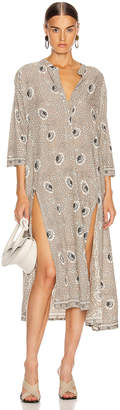 Natalie Martin Isobel Dress in Vintage Flowers Silver | FWRD
