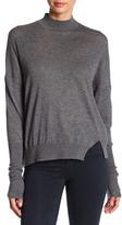 J Brand Acacia Mockneck Wool Blend Sweater