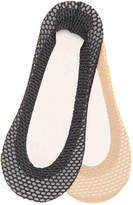 Aldo Lurex Net No Show Liners - 2 Pack - Women's