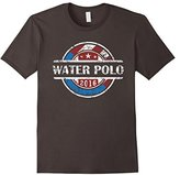 Men's American Flag Water Polo 2016 Shirt 2, USA Gift, WP Team XL