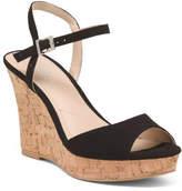 07ab55e4af6 Ankle Strap Cork Wedges - ShopStyle