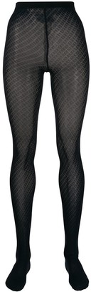 Wolford Gabrielle textured tights