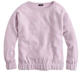 J.Crew Boiled wool sweatshirt