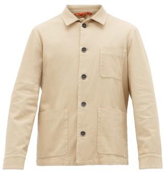 Barena Balera Cotton-blend Twill Overshirt - Beige