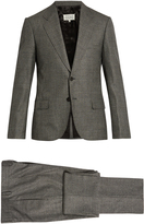 Maison Margiela Micro-checked slim-fit wool suit