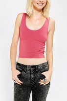 BDG Scoopneck Cropped Tank Top