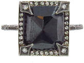 Cathy Waterman Black Diamond Pave Frame Ring