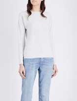 The White Company Boat-neck knitted jumper