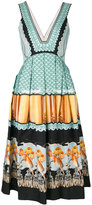 Temperley London Foxglove printed dress - women - Silk/Cotton/Viscose - 6