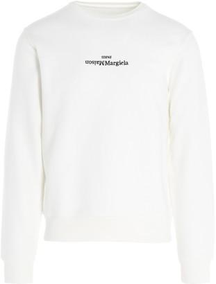 Maison Margiela Upside-Down Logo Sweatshirt