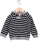 Petit Bateau Boys' Striped Knit Hoodie