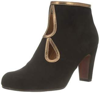 Chie Mihara Women's Kospi Ankle Boots, Black (Ante Picasso Bronze Negro)