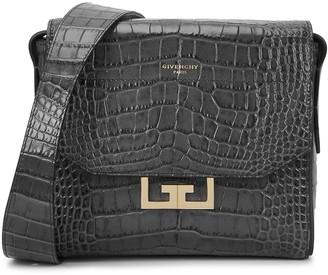 Givenchy Eden small crocodile-effect shoulder bag