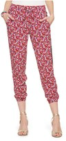 Juicy Couture Marina Floral Harem Pant