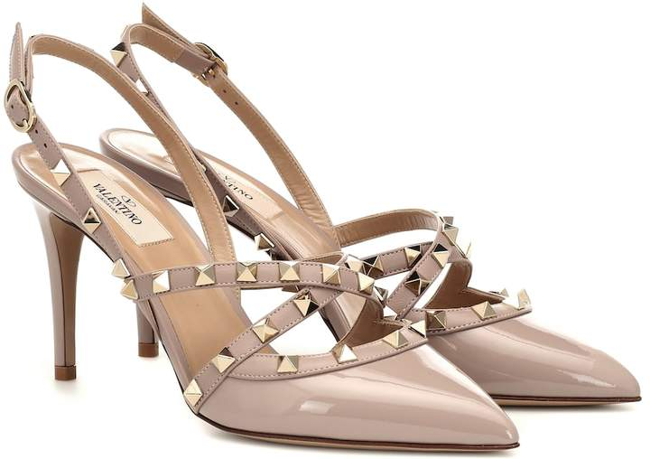 072875ac2 Valentino Patent Leather Pumps - ShopStyle