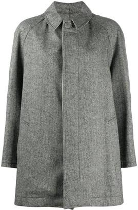 Jejia Raglan-Sleeves Chevron Coat