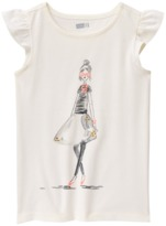 Crazy 8 Sparkle Girl Tee