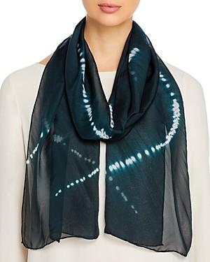 Eileen Fisher Tie Dyed Silk Scarf