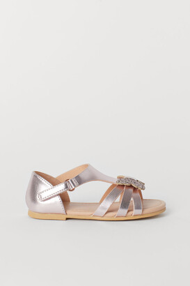 H&M Sandals with butterflies