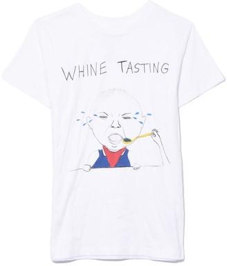 Unfortunate Portrait Whine Tasting Short Sleeve Tee