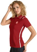 Antigua Women's Atlanta Hawks Merit Desert Dry Polo