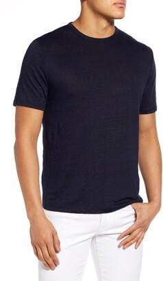 Vince Linen Crewneck T-Shirt