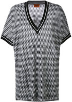 Missoni geometric shift T-shirt