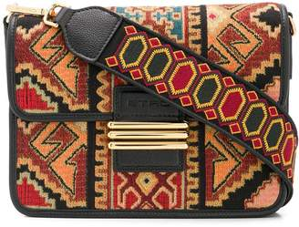 Etro aztec print shoulder bag