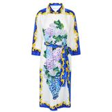 Dolce & Gabbana Majolica Print Shirt Dress