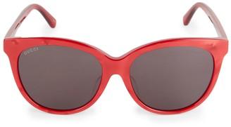 Gucci 56MM Cat Eye Sunglasses