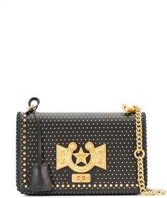 Versace horseshoe studded evening bag