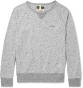 Nigel Cabourn - Mélange Loopback Cotton-jersey Sweatshirt