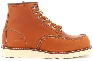 Red Wing Shoes Boot Leather Classic Moc Toe Oro Legacy