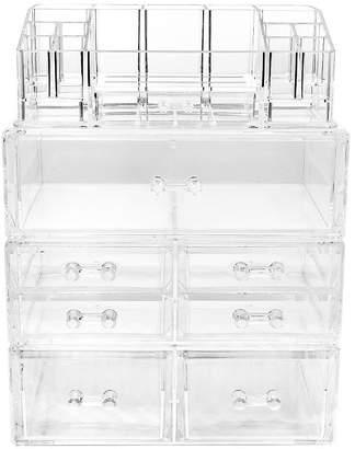 SORBUS Sorbus Acrylic Cosmetics Makeup & Jewelry StorageCase Display Sets