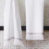 CB2 The Hill-Side selvedge white hand towel