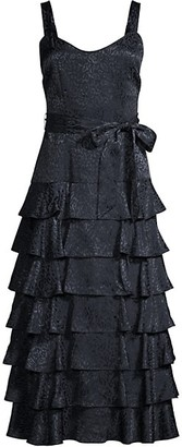 LIKELY Charlotte Tiered Ruffle Dress