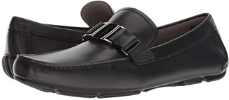 Salvatore Ferragamo Sardegna 15 Loafer (Nero) Men's Shoes